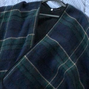Topshop cape. Worn once